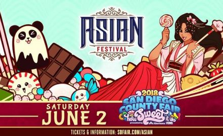 Asian Festival Day at the San Diego County Fair