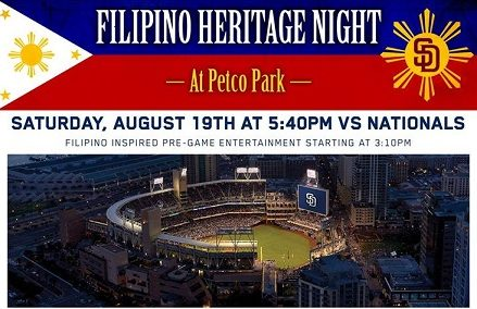 Padres Filipino Heritage Night