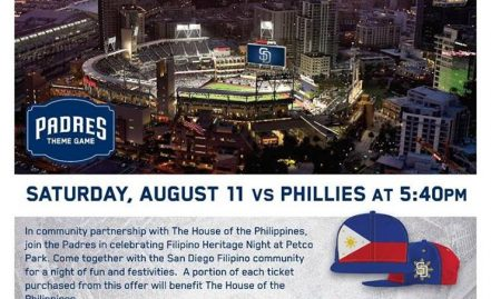 San Diego Padres Filipino Heritage Night