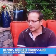 Dennis-Michael interviewed on FOX 5 for American Red Cross event